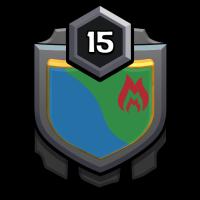 SVG WARRIORS badge