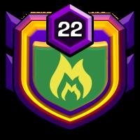 雪之女王 badge