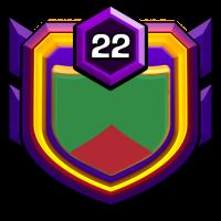 BD Star BOYS badge