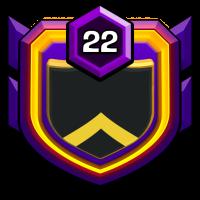 50位天才 badge