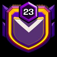 N.1 badge