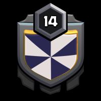 Crazy boys badge
