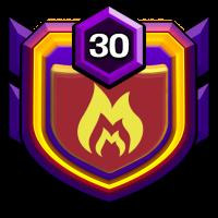 完美 badge