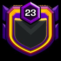 War Agency badge