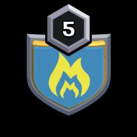 One Minet badge