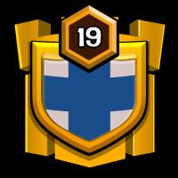 INDIAN WARRIORS badge