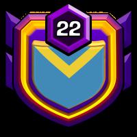 Казахстан АЛГА badge