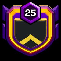 Badarse Adults badge