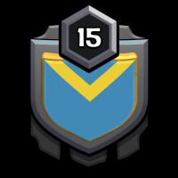 BOMBOM WARRIOR badge