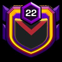 LES TITANS badge