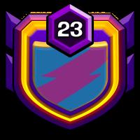 GD Warfield badge