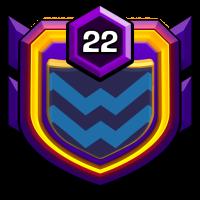 和勝塾 badge