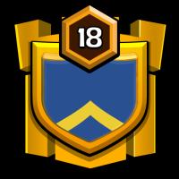 DaRk bLuE badge