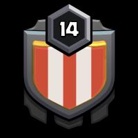 チリチリ頭 badge