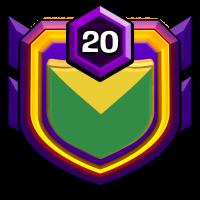 wall faire badge