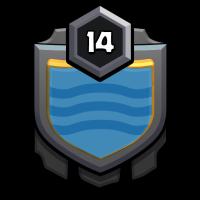 万岁 badge