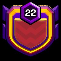 自由女神之不战部十七营 badge