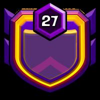 不打部落战只做捐兵狂47部 badge