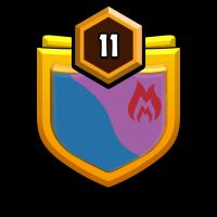 恋风部落 badge