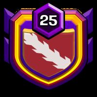 Christ Farm War badge