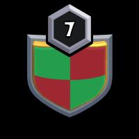 Red Rose (BM) badge