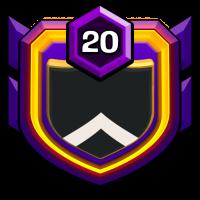 CLASH OF TVM badge