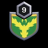 Norwegian Fox 2 badge
