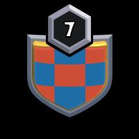 FCB Clashers badge