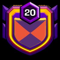 ClemsonNation#1 badge