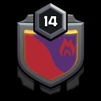 紫色闇影 badge