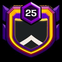 BD STAR FIVE badge