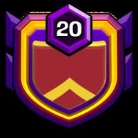 2015战狼中队 badge