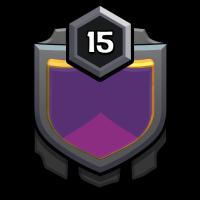 部落战神 badge