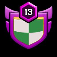 BLACK EYE badge