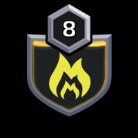 BG MASTERS badge
