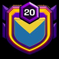 Persian's stars badge