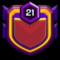 自由女神之不战部十一营 badge