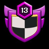 ☠️ブラック⚔海賊団 badge
