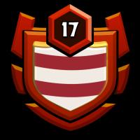 DANMARK CW MINI badge
