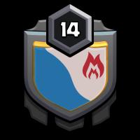 淡蓝色天空 badge