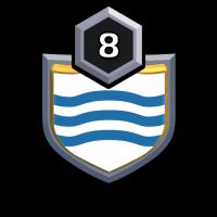 Wavy Waters badge
