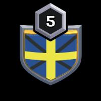 !SWEDEN! 4 badge