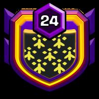 TT flingueur W badge