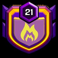 Gaudérios badge