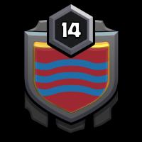 王城,友谊之都 badge