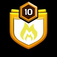無言 招待 badge
