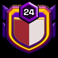 American Pride badge