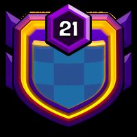 RÉVOLUTION badge