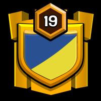 Raging Warriors badge