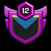 RISING WARIOR badge